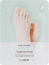 Parfumuri și produse cosmetice Mască pentru picioare - The Saem Pure Natural Foot Treatment Mask