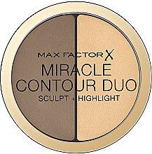 Parfumuri și produse cosmetice Paletă pentru conturarea feței - Max Factor Miracle Contour Duo