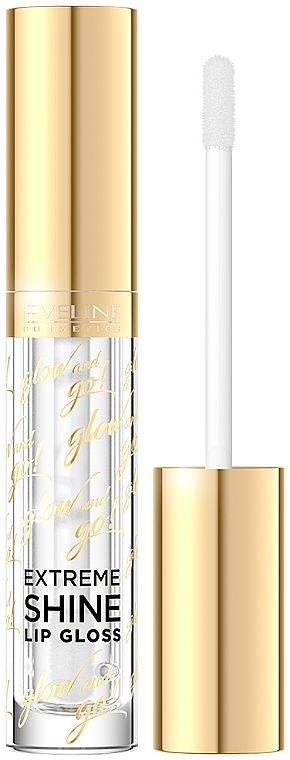 Luciu de buze - Eveline Cosmetics Glow & Go Extreme Shine Lip Gloss