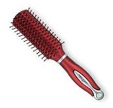 Parfumuri și produse cosmetice Perie de păr, 62414, roșie - Top Choice