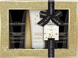 Parfumuri și produse cosmetice Set - Baylis & Harding Sweet Mandarine and Grapefruit (3xh/cr/50ml)