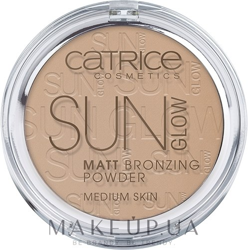 Pudră bronzantă - Catrice Sun Glow Matt Bronzing Powder — Imagine 030 - Medium Bronze
