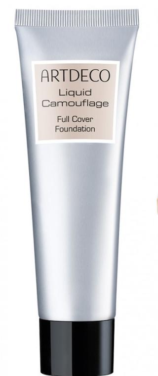 Жидкий маскирующий тональный крем - Artdeco Liquid Camouflage Full Cover Foundation