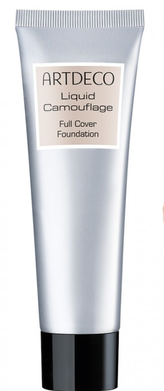 Fond de ten, lichid - Artdeco Liquid Camouflage Full Cover Foundation