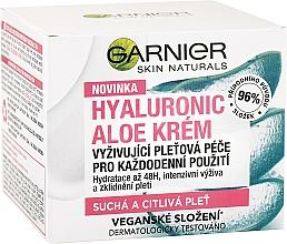 Cremă hidratantă de față - Garnier Skin Naturals Hyaluronic Aloe Day Cream — Imagine N2