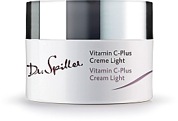 Parfumuri și produse cosmetice Cremă de zi, pentru față - Dr. Spiller Vitamin C-Plus Cream Light