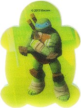 "Parfumuri și produse cosmetice Burete de baie ""Țestoasele Ninja"" Leonardo 6 - Suavipiel Turtles Bath Sponge"