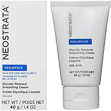 Parfumuri și produse cosmetice Cremă cu efect de reînnoire pentru față - Neostrata Resurface Glycolic Renewal Smoothing Cream Ultra