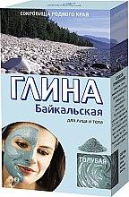 """Parfumuri și produse cosmetice Argilă pentru față și corp """"Baikal"""", albastră - FitoKosmetik"""