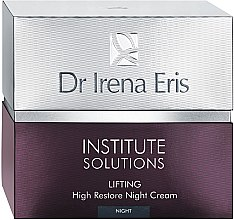 Parfumuri și produse cosmetice Cremă de noapte regenerantă împotriva ridurilor - Dr Irena Eris Institute Solutions Lifting High Restone Night Cream