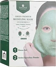 Parfumuri și produse cosmetice Mască pentru față - Shangpree Green Premium Modeling Mask
