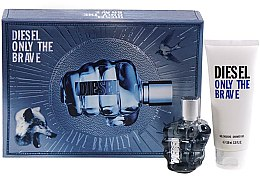 Parfumuri și produse cosmetice Diesel Only The Brave - Set (edt/50ml + sh/gel/100ml)