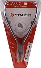 Parfumuri și produse cosmetice Clește pentru cuticule KM-01 - Staleks