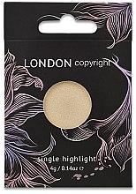 Духи, Парфюмерия, косметика Iluminator pentru față - London Copyright Magnetic Face Powder Highlight (Moonshine)