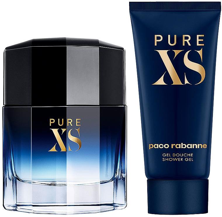 Paco Rabanne Pure XS Gift Set - Set (edt/50ml+sh/gel/100ml) — Imagine N3