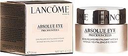 Parfumuri și produse cosmetice Cremă pentru conturul ochilor - Lancome Absolue Eye Precious Cells Repairing and Rejuvanating Eye Cream