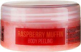 "Parfumuri și produse cosmetice Scrub de corp ""Prăjituri din Zmeură"" - Hristina Stani Chef'S Raspberry Muffin Body Peeling"