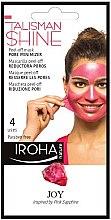 Parfumuri și produse cosmetice Mască-peeling pentru față - Iroha Nature Peel Off Pink Sapphire Pore Minimizer