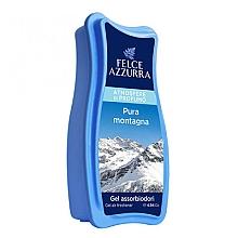 Parfumuri și produse cosmetice Odorizant gel - Felce Azzurra Gel Air Freshener Pura Montagna