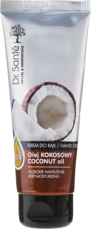 Увлажняющий крем для рук - Dr. Sante Hand Cream Coconut Oil