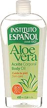 """Parfumuri și produse cosmetice Ulei de corp """"Aloe Vera"""" - Instituto Espanol Aloe Vera Body Oil"""
