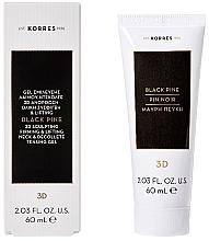 Parfumuri și produse cosmetice Gel-lifting pentru gât și decolteu - Korres Black Pine 3D Neck Decollete Gel
