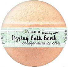Parfumuri și produse cosmetice Bomba pentru baie - Nacomi Orange Vanilla Bath Bomb