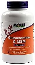 """Parfumuri și produse cosmetice Capsule """"Glucozamină și MSM"""" - Now Foods Glucosamine & MSM"""