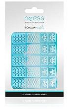 Parfumuri și produse cosmetice Abțibilduri pentru designul unghiilor, 3695 - Neess