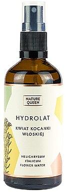 Hidrolat cu o imortelă italiană - Nature Queen Helichrysum Italicum Flower Hydrolat