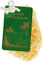 Parfumuri și produse cosmetice Burete natural, galben, mediu - Organique