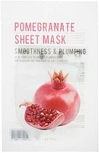 Parfumuri și produse cosmetice Mască din țesătură cu extract de rodie pentru față - Eunyul Purity Pomegranate Sheet Mask