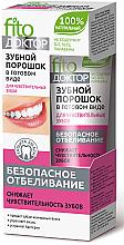 Parfumuri și produse cosmetice Praf de dinți pentru dinții sensibili - Fito Kosmetik