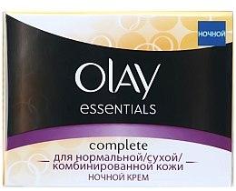 Parfumuri și produse cosmetice Ночной крем тройного действия для нормальной, сухой и комбинированной кожи - Olay Complete Night Cream