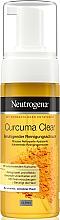 Parfumuri și produse cosmetice Spumă cu extract de turmenic de curățare pentru față - Neutrogena Curcuma Clear Mousse Clenser