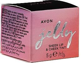 Parfumuri și produse cosmetice Tint-jeleu pentru buze și obraz - Avon Jelly Sheer Lip & Cheek Tint