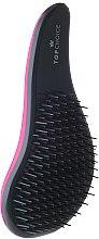 """Parfumuri și produse cosmetice Perie de păr, """"Detangler"""", 63831, gri- roz - Top Choice"""