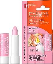 Parfumuri și produse cosmetice Scrub de buze delicat sub formă de ruj 8în1 - Eveline Cosmetics Precious Oils