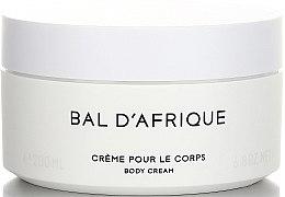 Parfumuri și produse cosmetice Byredo Bal D`Afrique - Cremă de corp