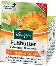 Parfumuri și produse cosmetice Ulei de picioare - Kneipp Foot Repair Butter Calendula & Orange