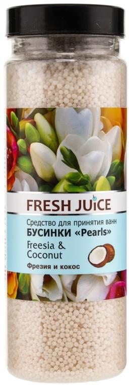 Бусинки для ванны - Fresh Juice Bath Bijou Rearls Freesia and Coconut