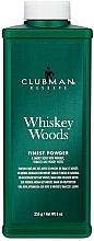 Parfumuri și produse cosmetice Clubman Pinaud Whiskey Woods - Тальк универсальный