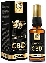 Parfumuri și produse cosmetice Ulei natural de argan CBD 500mg - Dr. T&J Bio Oil