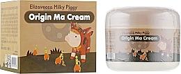 Parfumuri și produse cosmetice Cremă regenerantă cu ulei de cal - Elizavecca Face Care Milky Piggy Origine Ma Cream