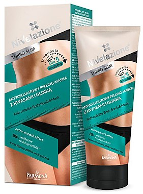 Scrub-Mască pentru corp - Farmona Nivelazione Turbo Slim 2in1 Anti-Cellulite Scrub-Mask — Imagine N1