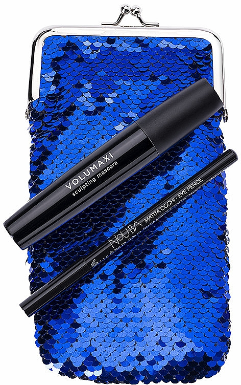 Set - NoUBA Eye'M Volumaxi Sculpting Mascara (mascara/18ml + eye/pen/1.1g + bag) — Imagine N1