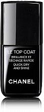 Parfumuri și produse cosmetice Fixator pentru unghii - Chanel Le Top Coat Nail Brilliance Et Quick Dry And Shine