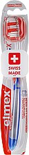 Parfumuri și produse cosmetice Periuță de dinți, albastră, 43613 - Elmex Toothbrush Caries Protection InterX Medium
