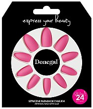 Parfumuri și produse cosmetice Set unghii false cu adeziv, 3053 - Donegal Express Your Beauty