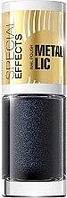 Parfumuri și produse cosmetice Lac pentru unghii - Eveline Cosmetics Special Effects Metallic Nail Polish